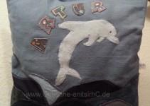 Vorderseite Delfinkissen