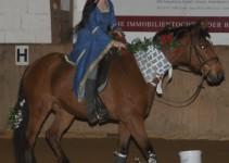Dornröschen auf weltbestem Pferd