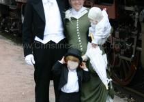 Familienausflug Mai 2013 - das erste Mal ausführen auf der Sauschwänzlebahn