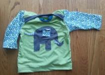 Shirt Elefant Zwergenverpackung