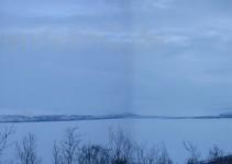 Panorama n Abisko bei unserer Unterkunft
