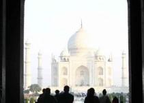 Erster Blick aufs Mausoleum