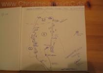 Unsere Reiseroute im Gästebuch