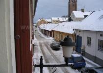 Blick aus unserem Fenster in die Altstadt