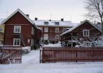 Die wunderbare Jugendherberge Mariestad . ein altes Gerberhaus