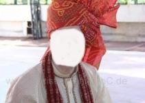 ale männlichen Gäste des Bräutigams bekommen einen  Turban