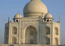 Das Mausoleum ohne die Türme