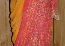 moderne Sari-Variante