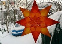 Clarissa in hellem und dunklem orange