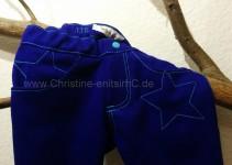 Details Bund und Taschen vorn