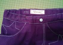 Label beschriftet mit Schnitt und Jahreszahl