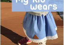my kid wears