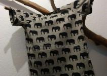 Elefantenshirt grau