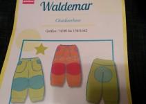 Schnittmuster Waldemar