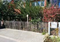 Stellplatz und Weidenpavillon