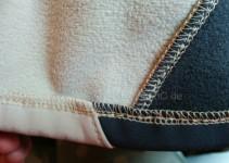 runde Schnitteile verhindern dicke Stellen