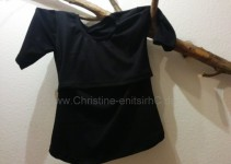Stillshirt schwarz
