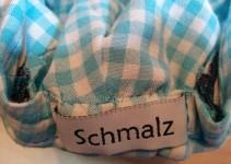 Label am Schweißband hinten