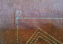 Detail hintere Tasche