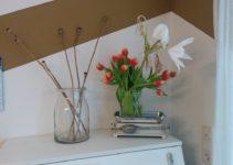 Tulpen und Lilie