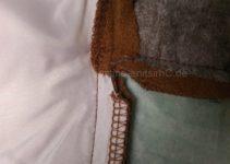 Nahtzugaben einschneiden (Kragen)