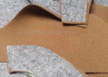 Zuschnitt und Bügeleinlage