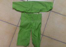 Anzug aus Feincord
