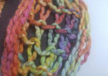 Strickbild Pastell-Loop