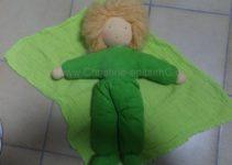 grüne Puppe