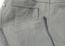 falsche Taschenziehnaht