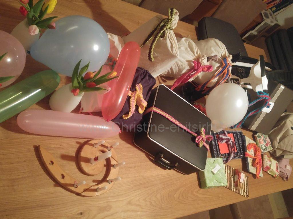 Geschenkband-Verwendung