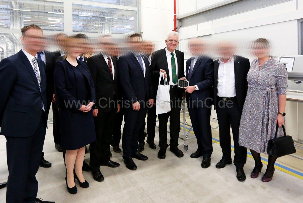 Gruppenbild mit MP (ich ganz rechts)