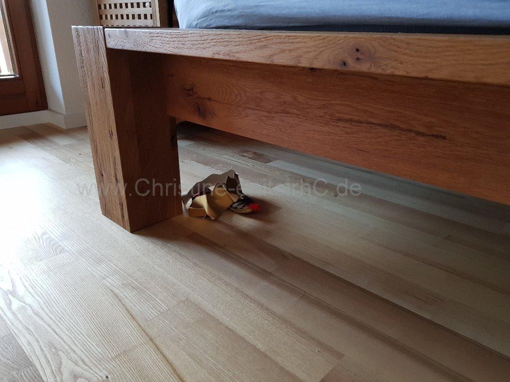 Lager unterm Bett